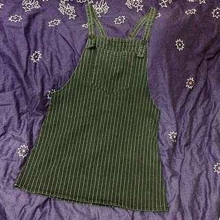 Eyescream👀復古直條紋吊帶裙