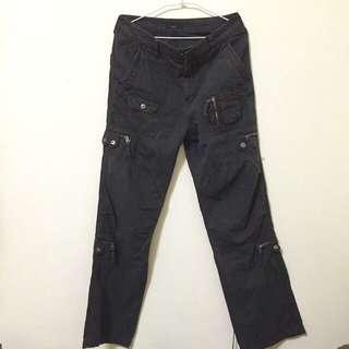 NET 口袋褲黑色size :30腰