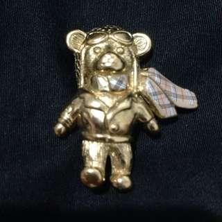 📢📢📢降價囉😁Burberry飛行員款泰廸熊別針