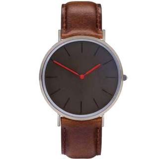 Minimalist Leather Watch