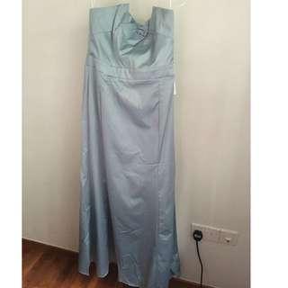Baby Blue Long Evening Dress *Brand new*
