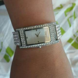D&G Watch With Matching Bracelet