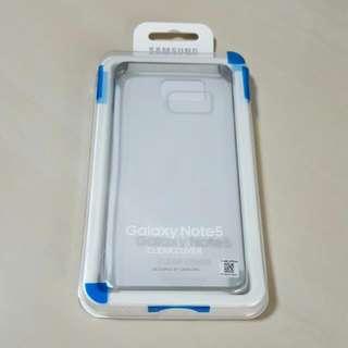 Original Samsung Galaxy Note 5 Clear Cover