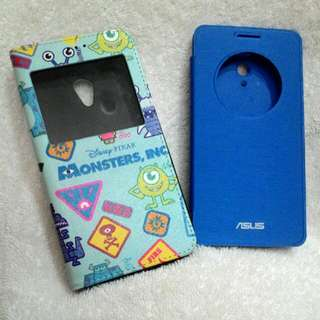 Asus ZenFone6 手機殼 翻蓋 掀蓋 藍 毛怪 大眼仔 怪獸電力公司