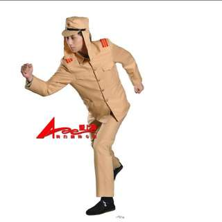 Japan Army Uniform Costume For Halloween - Pre Loved