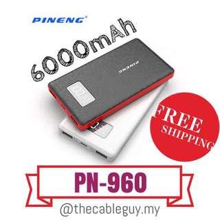 PINENG Original Powerbank Model PN-960 6000mAh