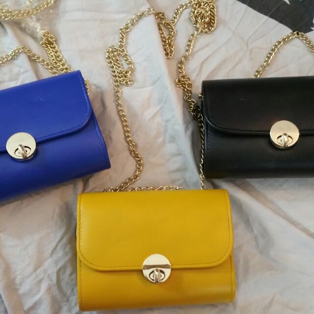 3 Different colour Clutch $5 Each