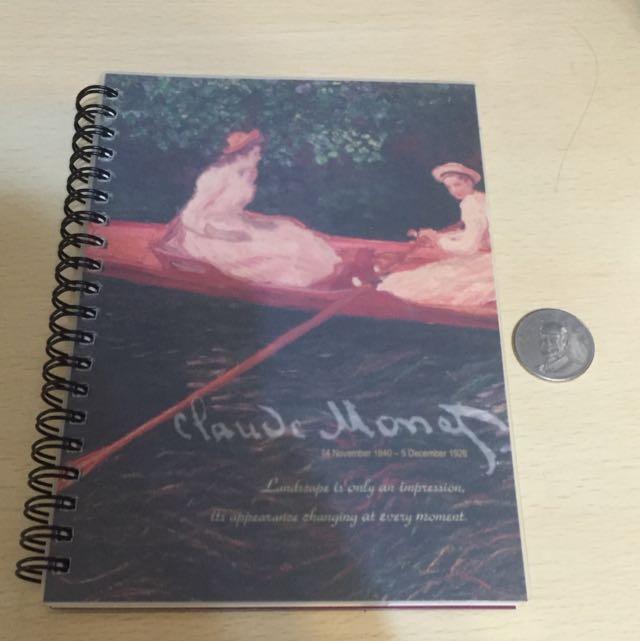 莫內筆記本