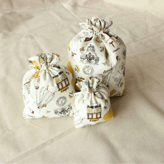 &大號&手工棉麻布袋收納袋束口袋抽繩袋茶葉禮品袋喜糖袋化裝包