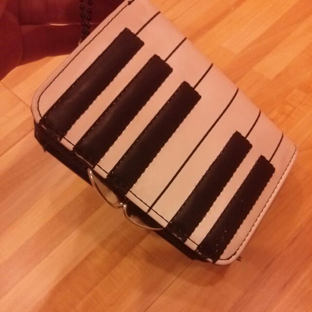 鋼琴小皮夾