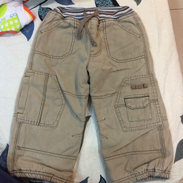 厚棉工作褲 (適18-24M)