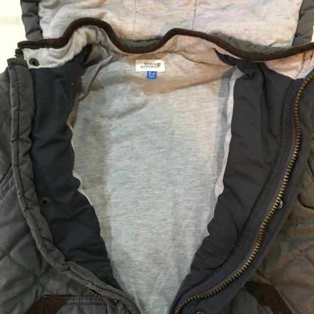 舖棉外套 適4歲 105公分