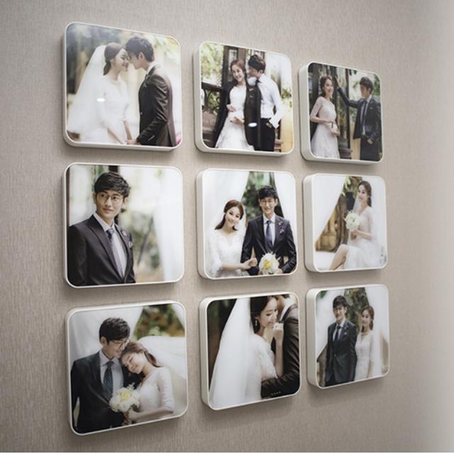 一組九個 - 韓國九宮格照片牆