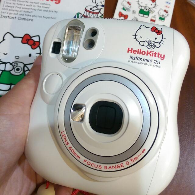 富士 FUJIFILM Instax mini25 Hello Kitty 拍立得