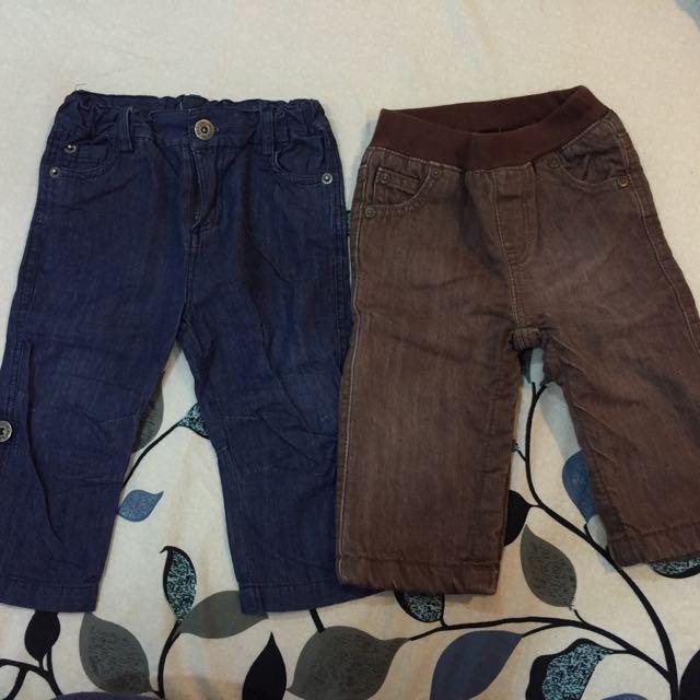 Baby Gap 牛仔褲 購於日本(70cm)