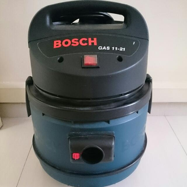 bosch gas 11 21 professional wet dry vacuum cleaner furniture on carousell. Black Bedroom Furniture Sets. Home Design Ideas