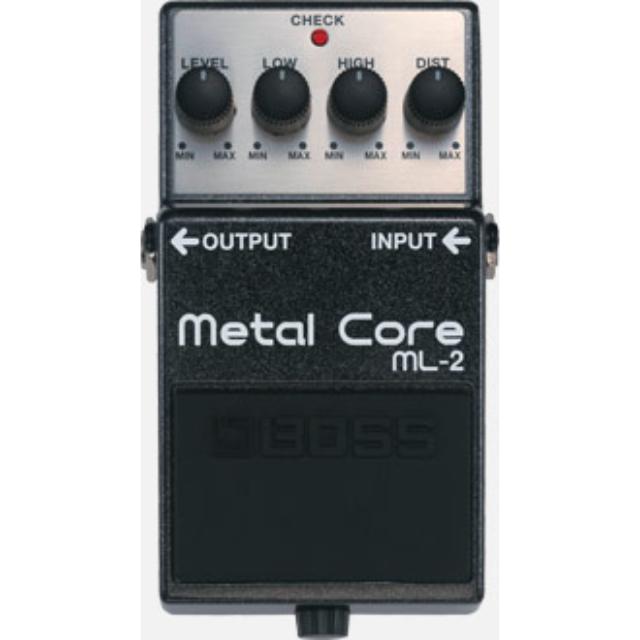 BOSS ML-2 Metal Core 電吉他金屬破音單顆效果器