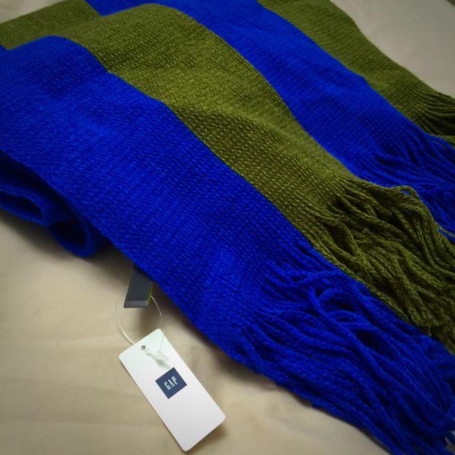 Gap 純棉圍巾 (全新品)