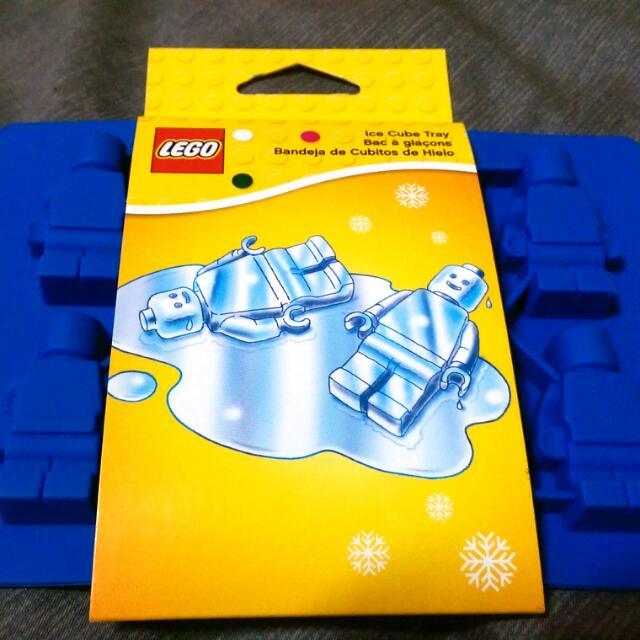 Lego造型小人製冰盒(軟橡膠)