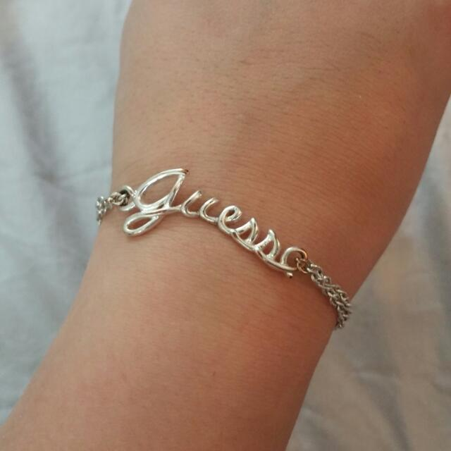 Oringinal GUESS bracelet And Ring