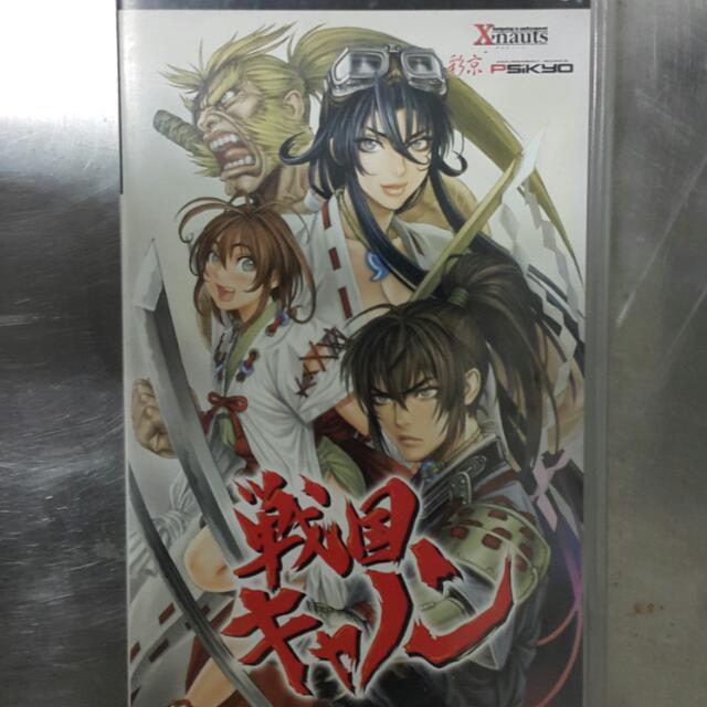PSP 戰國 CANNON SENGOKU ACE EPISODE III