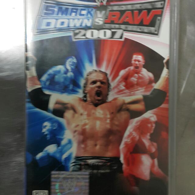 PSP WWE 2007