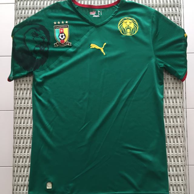 c926a62fc79 Puma💯% Authentic Cameroon jersey for SGD 37 (size S)