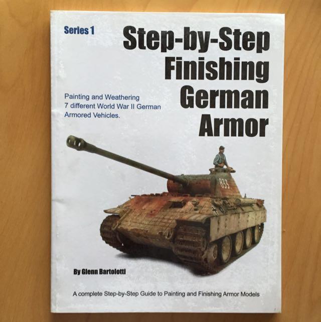 Step By Step Finishing German Armor 1:35 Tamiya Academy