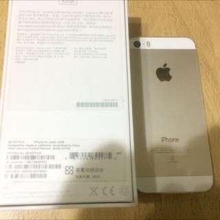 iPhone 5s 32g金色只要9500限時3天特賣