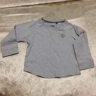 Poney Kids Grey Long-sleeve T-shirt