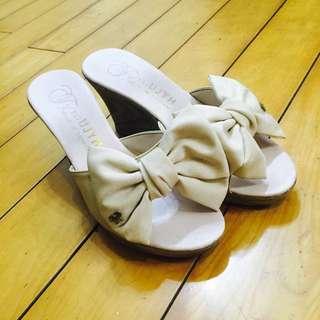 💓 蝴蝶結高跟鞋