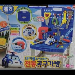 正品!別懷疑~韓國空運玩具~新款波力五金工具組