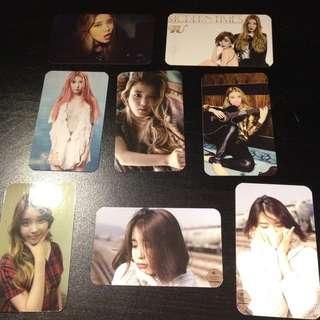 IU Fanmade Photocards