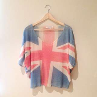 London Flag Top