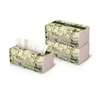 優活100抽衛生紙 60包/箱 (6串)