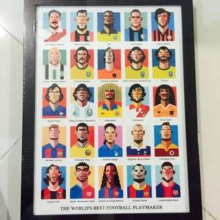 Assorted Wall Poster Avenger Footballer