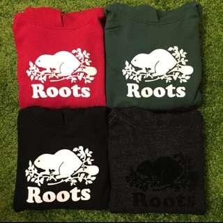 售完-Roots 帽T