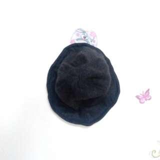 深灰質感圓頂帽子