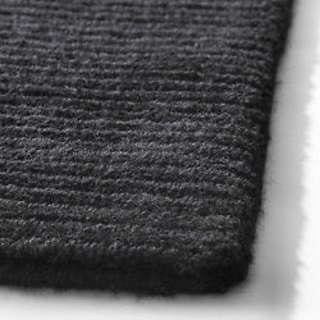 Ikea Almsted Rug (Black Color)  170 x 240 cm