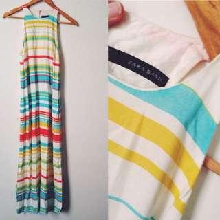 Zara Maxi Dress Size 8