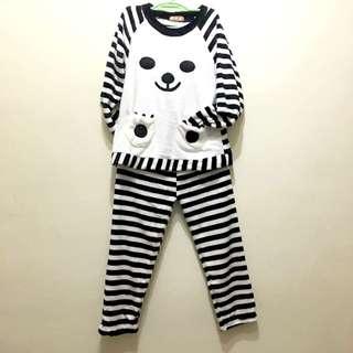 🌸北極熊 珊瑚絨 睡衣