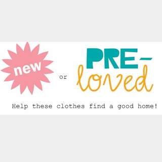 New & preloved clothes
