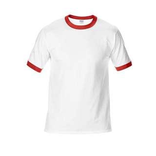 特價!Gildan滾邊T-shirt 吉爾登76600 素色t-shirt