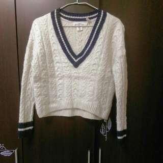(二手)正版H&M ✈美國購入 麻花捲 毛衣