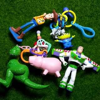 手工 玩具總動員吊飾
