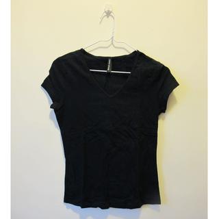 全新 Marks & Spencer 黑色V領Tshirt