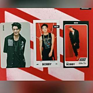 (WTT) Bobby to Bi Photocard (Mix & Match, Debut Half Album Welcome Back)