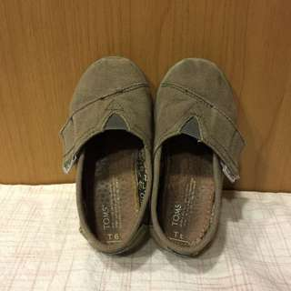 二手Toms童鞋-灰