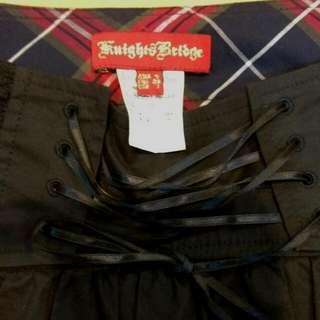 (保留)Knightsbridge 蕾絲擺馬甲短裙