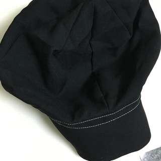 日本防曬UV小顏帽(黑)